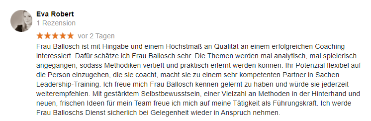 Rezension Angelika Ballosch